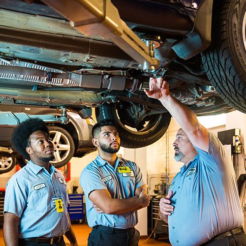 Automotive Service Technology BRAMAN - Forklift Operations