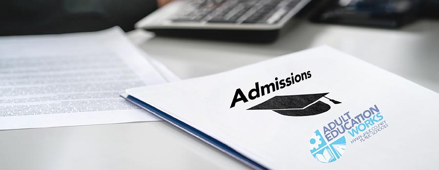 Admissions - Admissions